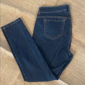 Torrid 14 Short Stretch Skinny Jeans Dark Wash